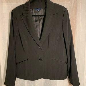Black Reitmans Button Blazer - Size 15